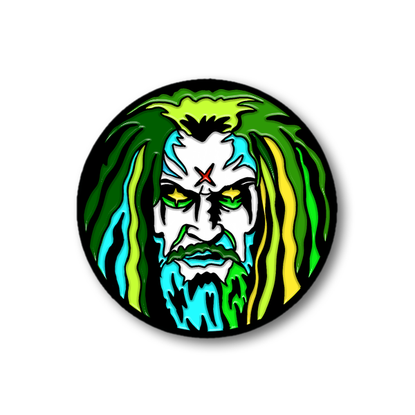 "ROB ZOMBIE ""SUPERBEAST"" ENAMEL PIN"