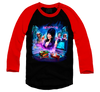 ELVIRA'S HOME VIDEO HORROR - BASEBALL SHIRT