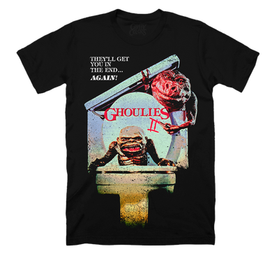 GHOULIES II: VHS COVER ART T-SHIRT
