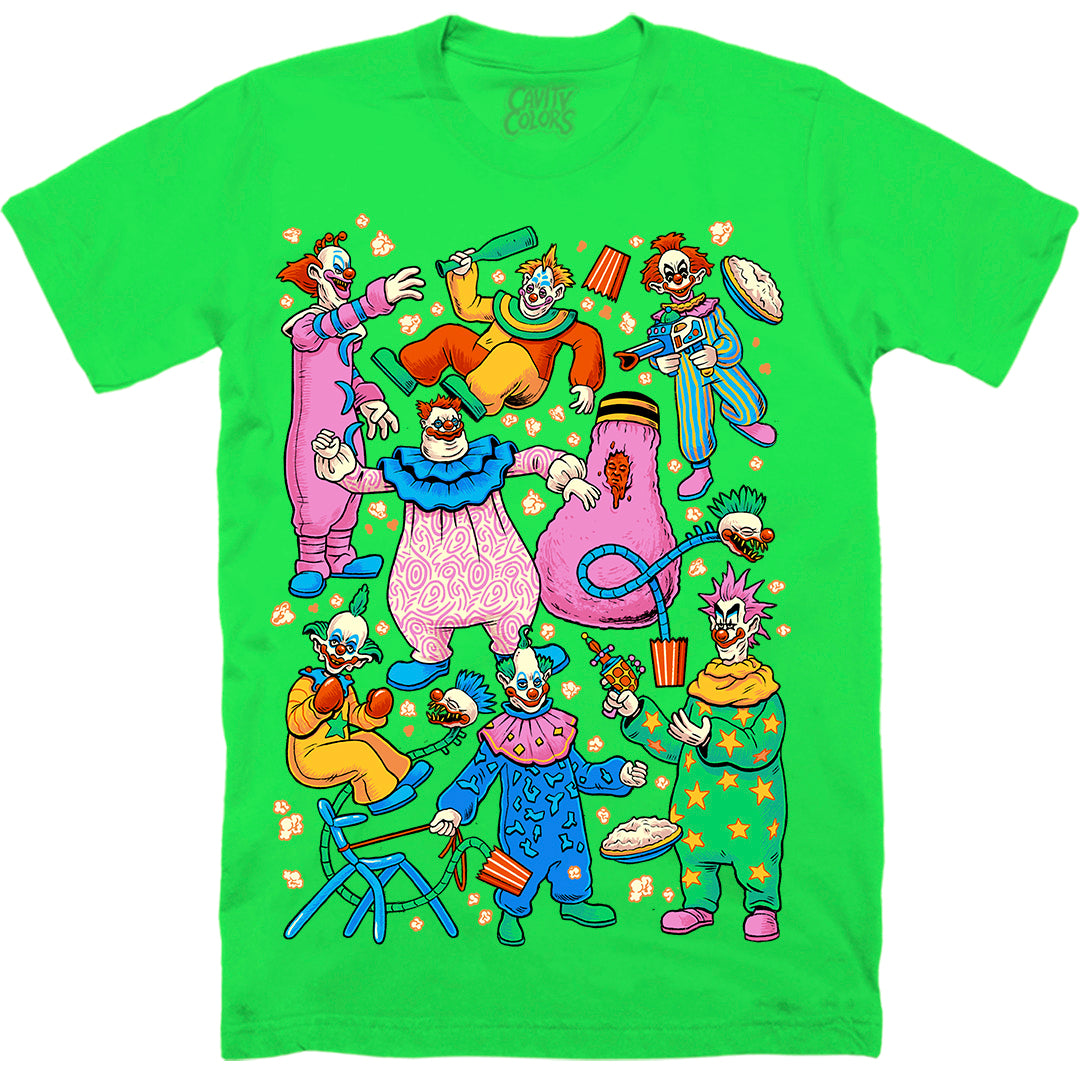 KLOWN PARTY - T-SHIRT (SPACE NEON GREEN)