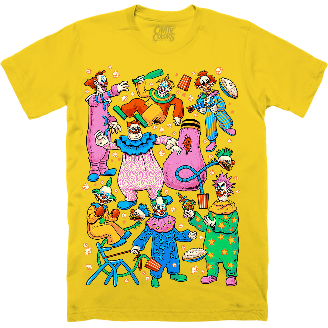 KLOWN PARTY - T-SHIRT (BIG TOP YELLOW)