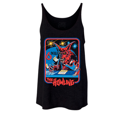 NEWSLADY IS A WEREWOLF - LADIES SLOUCHY TANKTOP