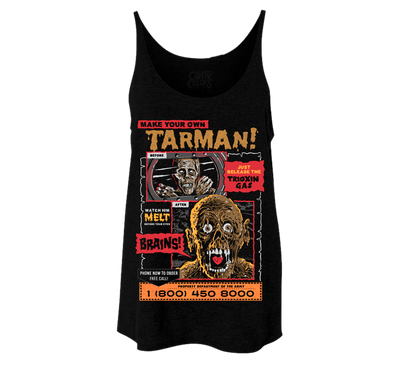 MAKE YOUR OWN TARMAN - LADIES SLOUCHY TANKTOP