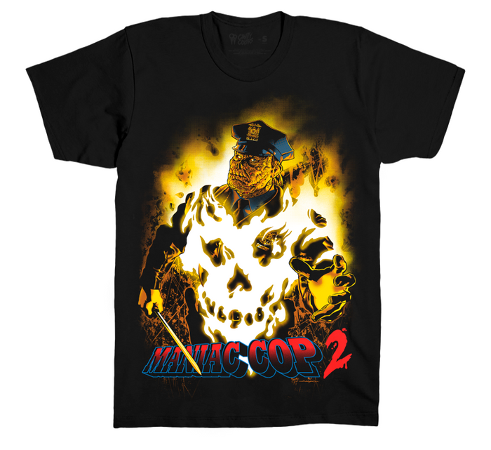 MANIAC COP 2 - T-SHIRT - VERSION 2