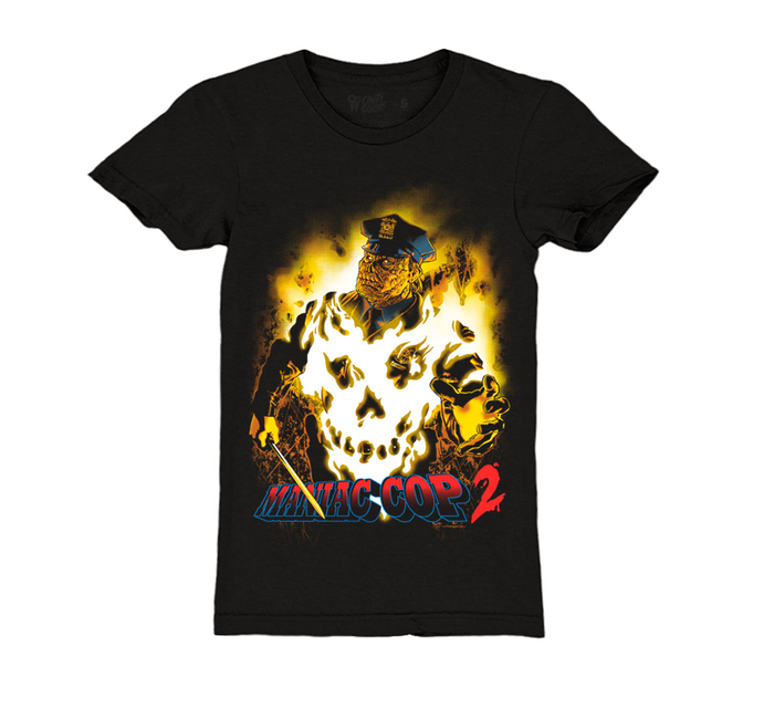 MANIAC COP 2 - GIRLS T-SHIRT - VERSION 2