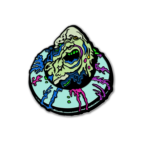 MELTDOWN - ENAMEL PIN
