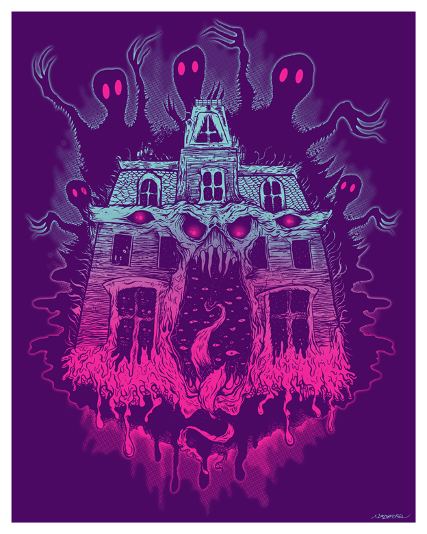 """MONSTERHOUSE 2"" LIMITED EDITION POSTER"
