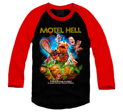 MOTEL HELL - BASEBALL SHIRT