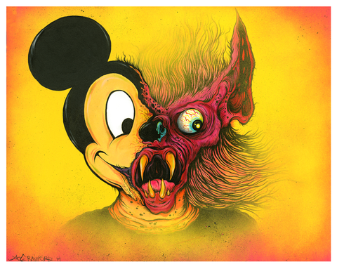 """MICKEY MALICE"" LIMITED EDITION PRINT"