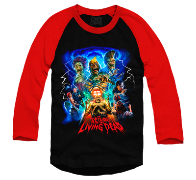RETURN OF THE LIVING DEAD: PARTY TIME BASEBALL SHIRT