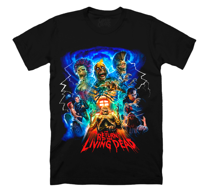 RETURN OF THE LIVING DEAD: PARTY TIME T-SHIRT