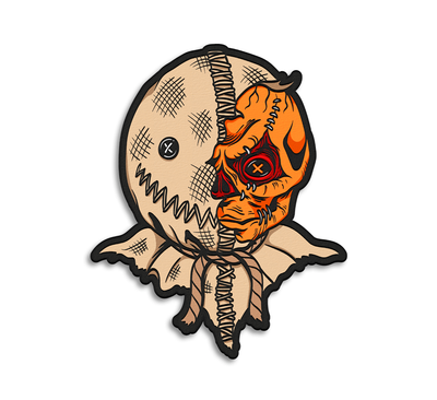 SAM - TRICK 'R TREAT WOVEN PATCH