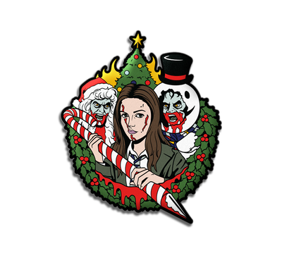 ANNA AND THE APOCALYPSE - LAPEL PIN