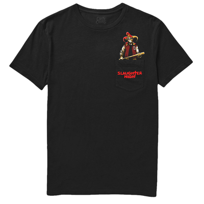 SLAUGHTER HIGH: MARTY GETS EVEN - POCKET TEE