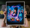 ELVIRA'S HOME VIDEO HORROR - LIMITED EDITION POSTER