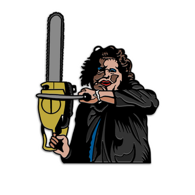 PRETTY WOMAN LEATHERFACE ™ - ENAMEL PIN