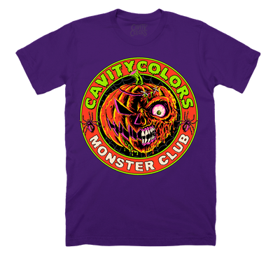 PURPLE MONSTER CLUB - T-SHIRT