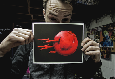 """PHANTASM CANDY"" DEADLY DESSERT PRINT"