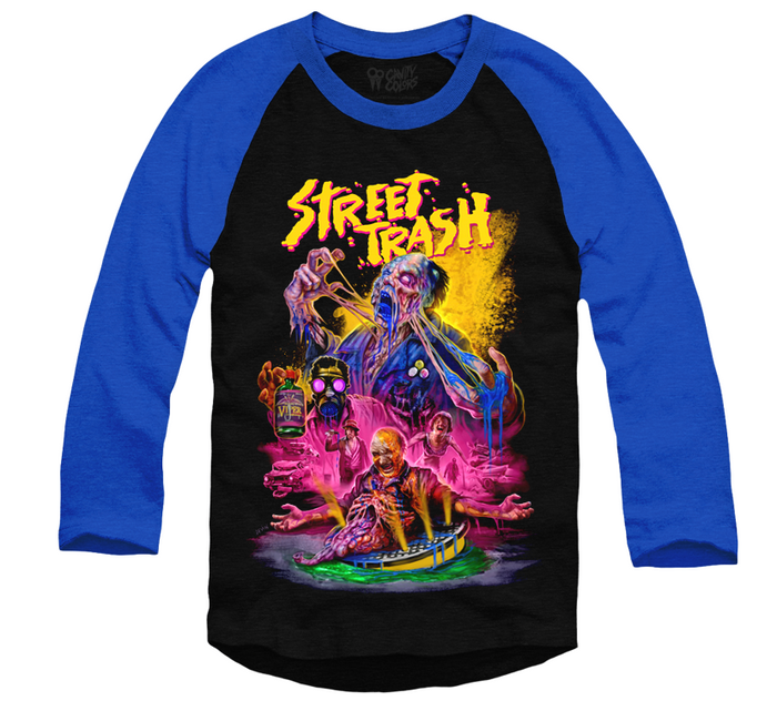 STREET TRASH - BASEBALL SHIRT