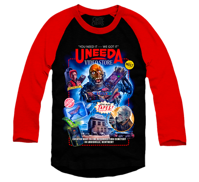 UNEEDA VIDEO - BASEBALL SHIRT