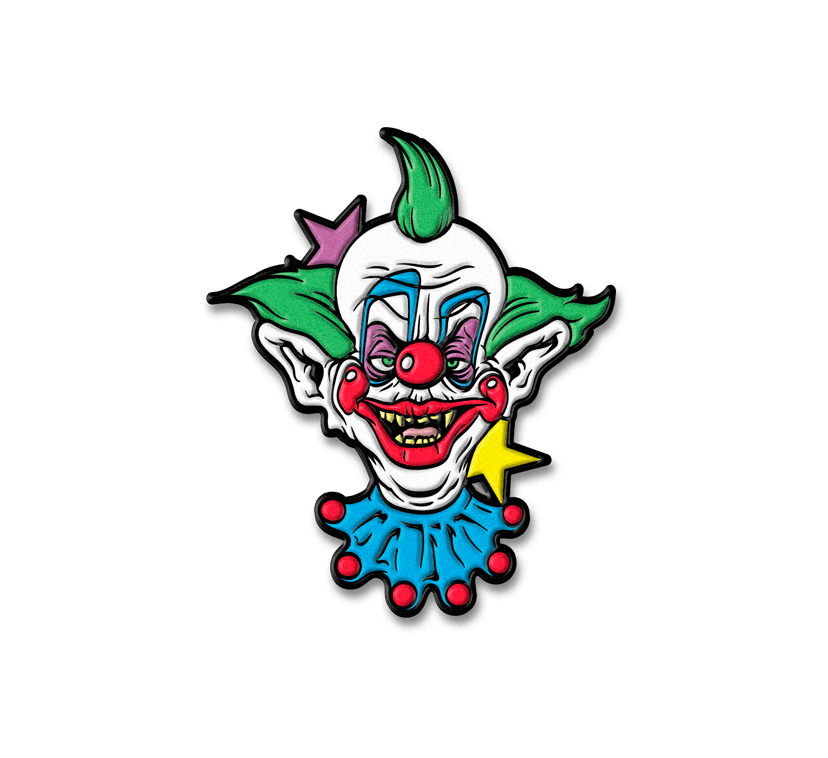 SHORTY KLOWN ENAMEL PIN