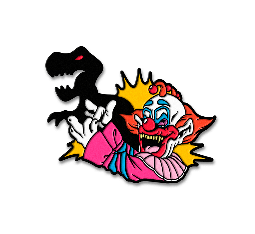 SLIMS SHADOW PUPPET ENAMEL PIN
