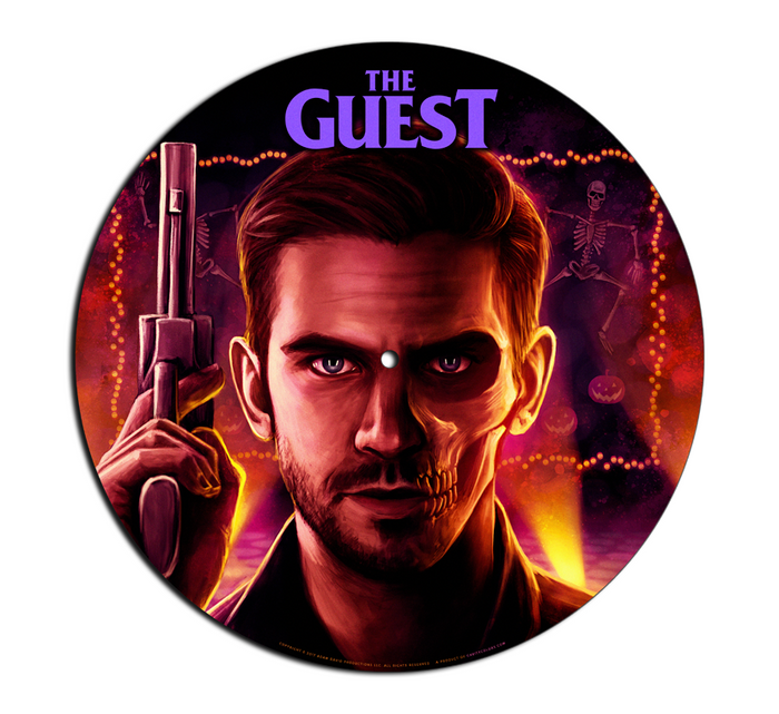 THE GUEST - TURNTABLE SLIPMAT