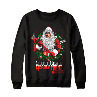 SILENT NIGHT, DEADLY NIGHT - CREWNECK SWEATER