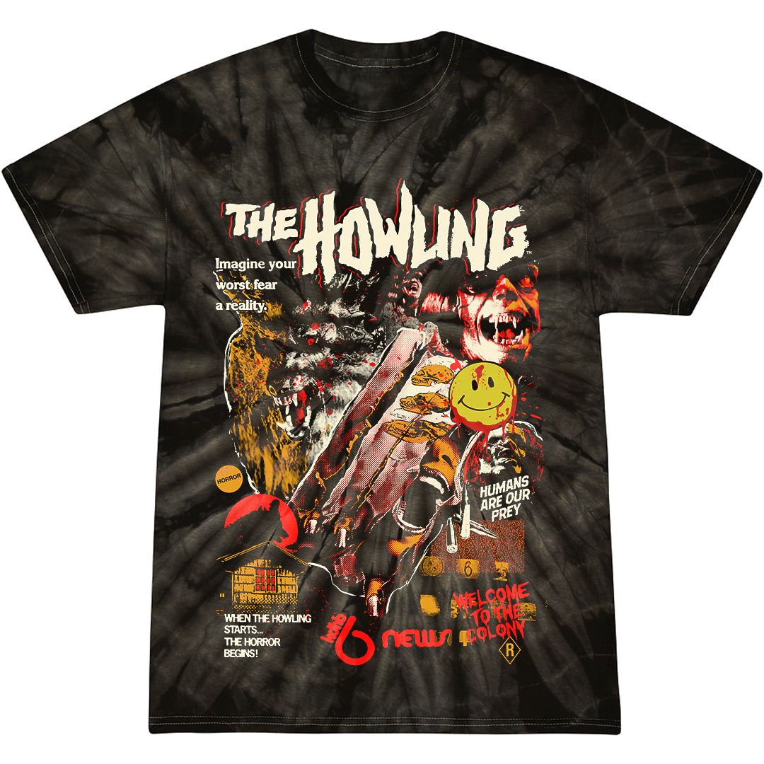 THE HOWLING: YOUR WORST FEAR - T-SHIRT (WEREWOLF HAIR)