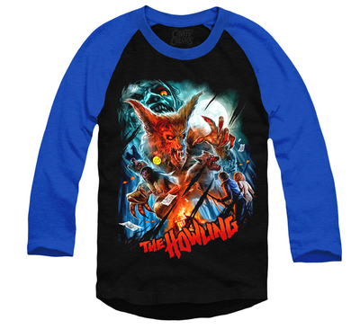 THE HOWLING - BASEBALL SHIRT