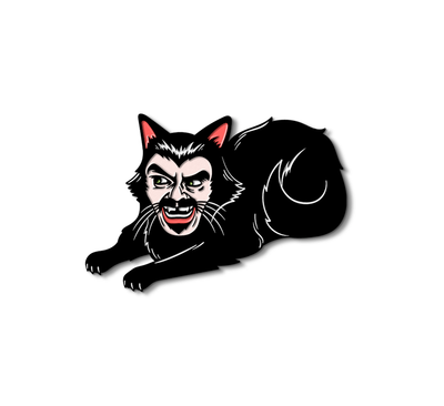 VLAD CAT - ENAMEL PIN