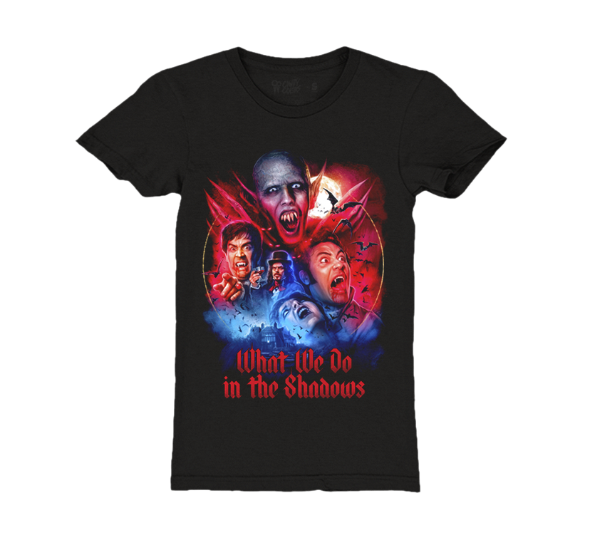 7feee9067 WHAT WE DO IN THE SHADOWS - GIRLS T-SHIRT - CAVITYCOLORS, LLC