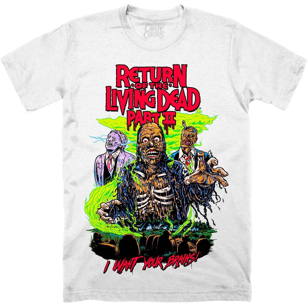 TARMAN: RETRO HORROR - T-SHIRT (BONE WHITE)