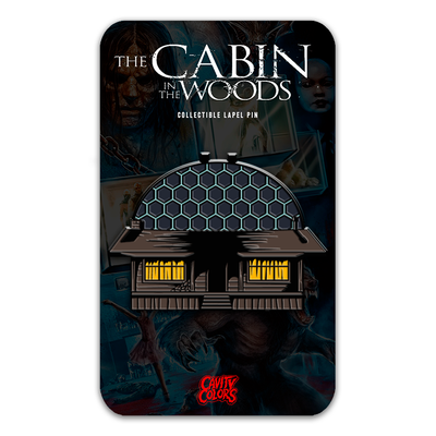 THE CABIN IN THE WOODS - DELUXE FLIP-OPEN ENAMEL PIN
