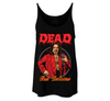 DEAD BUT DELICIOUS - LADIES SLOUCHY TANKTOP
