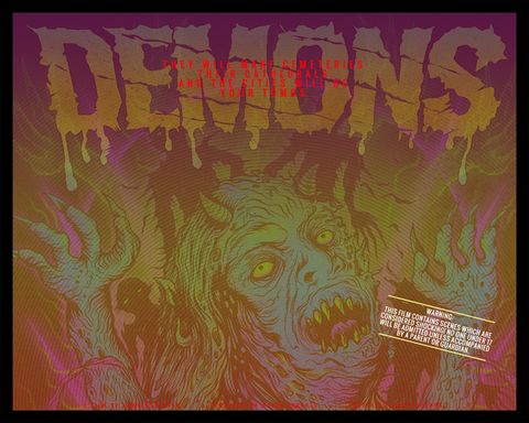 """DEMONS"" LIMITED EDITION POSTER"