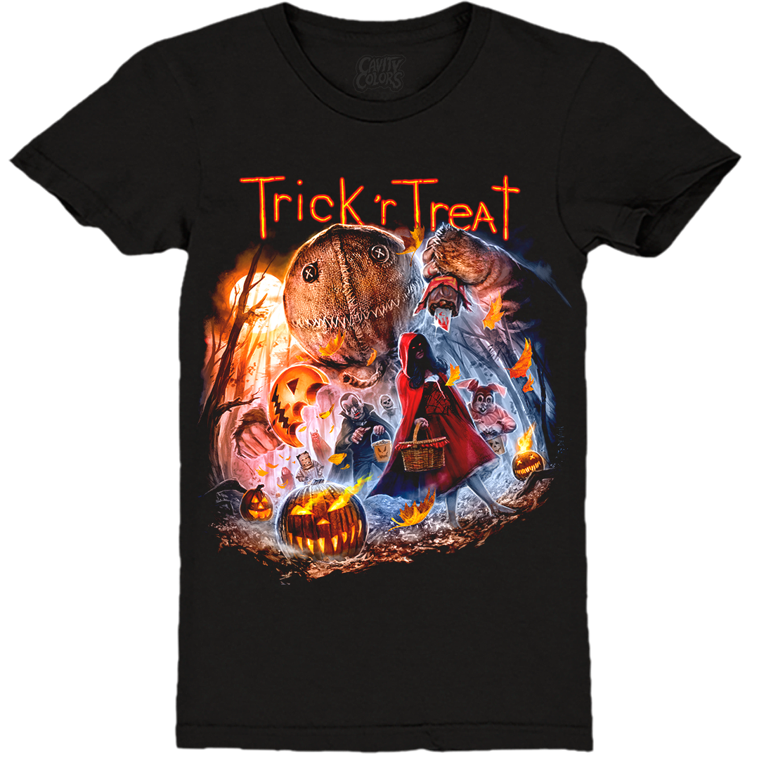 TRICK 'R TREAT: HALLOWEEN NIGHT - LADIES T-SHIRT