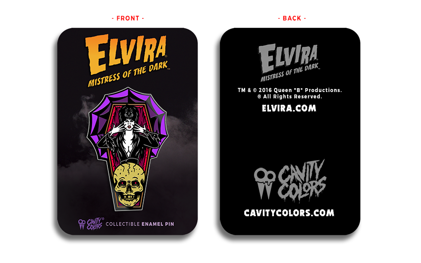 ELVIRA® Mistress of The Dark™ PIN
