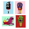"""THE DEADLY DESSERTS"" PRINT SET #1"