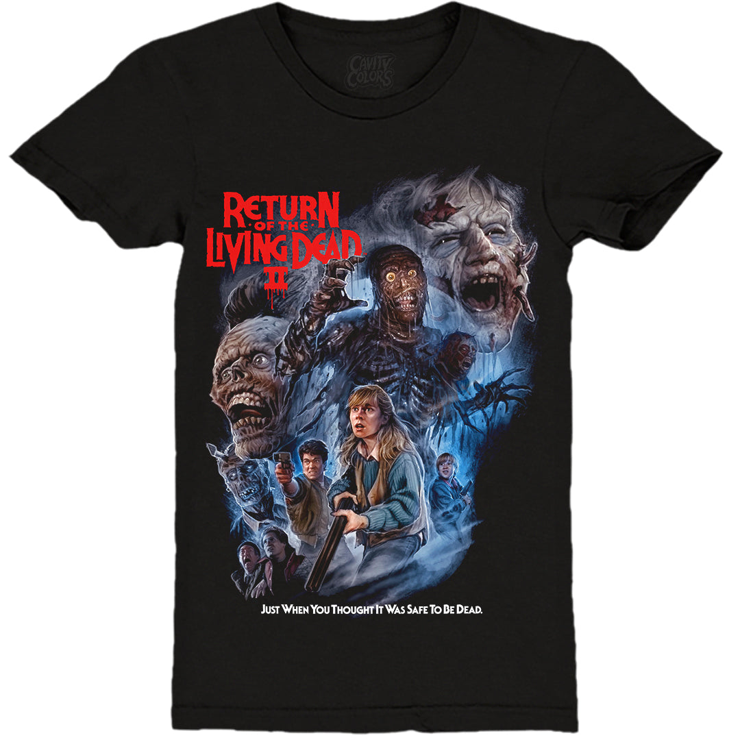 RETURN OF THE LIVING DEAD PART II - LADIES T-SHIRT