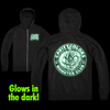 CAVITYCOLORS MONSTER CLUB (GLOW IN THE DARK) ZIP-UP HOODIE