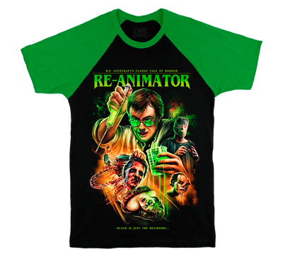 RE-ANIMATOR® - RAGLAN T-SHIRT