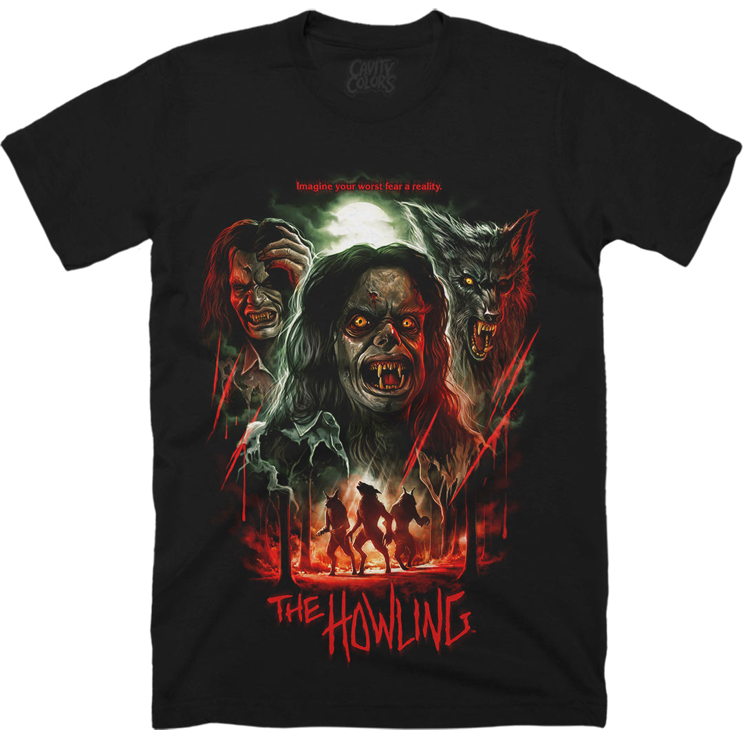 THE HOWLING: 40th ANNIVERSARY - T-SHIRT