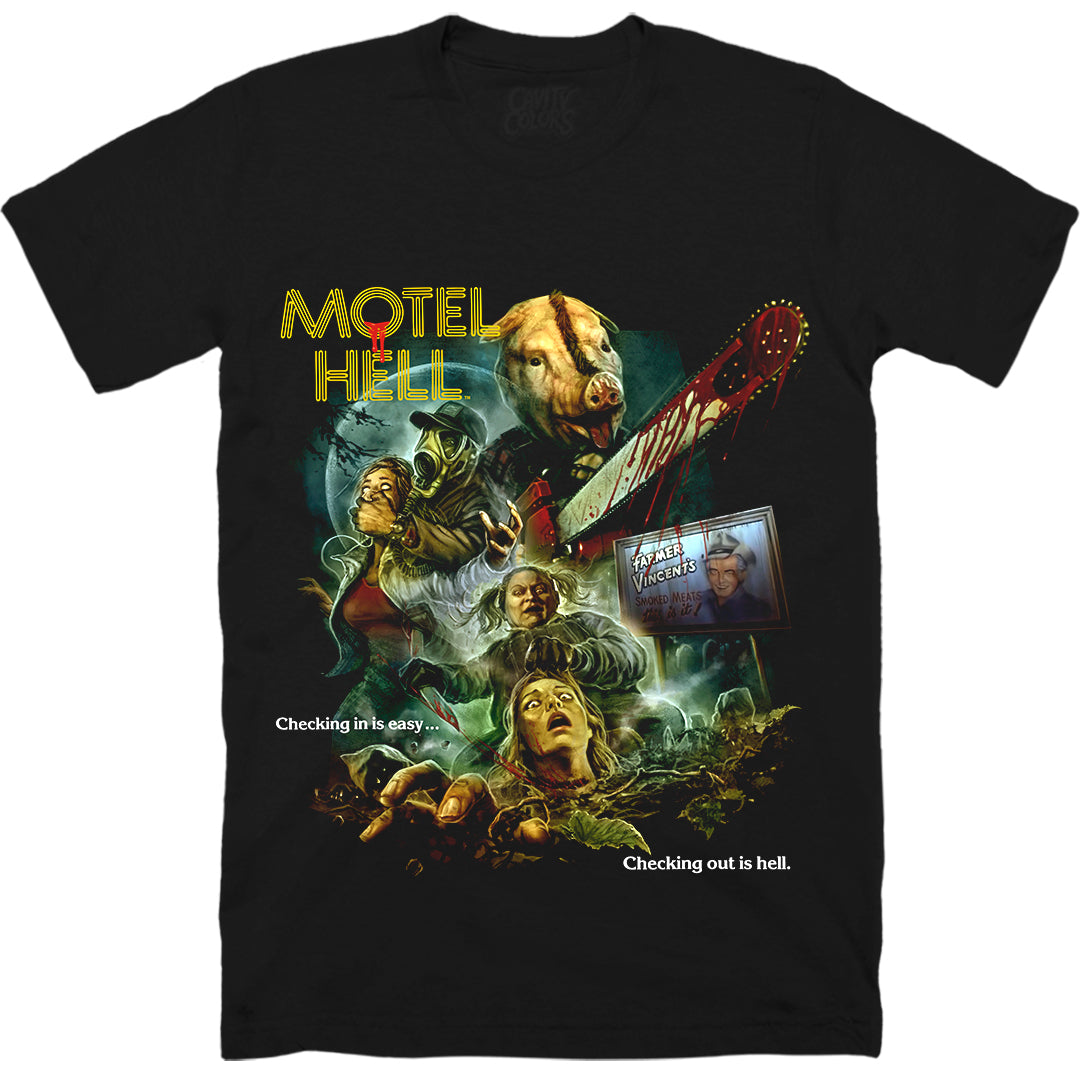 MOTEL HELL: 40TH ANNIVERSARY - T-SHIRT