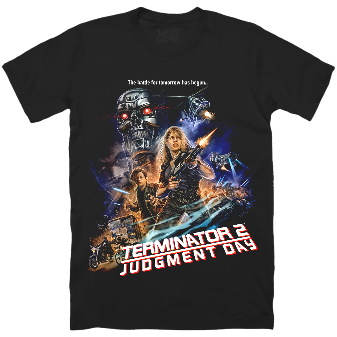 T2: SARAH CONNOR - T-SHIRT