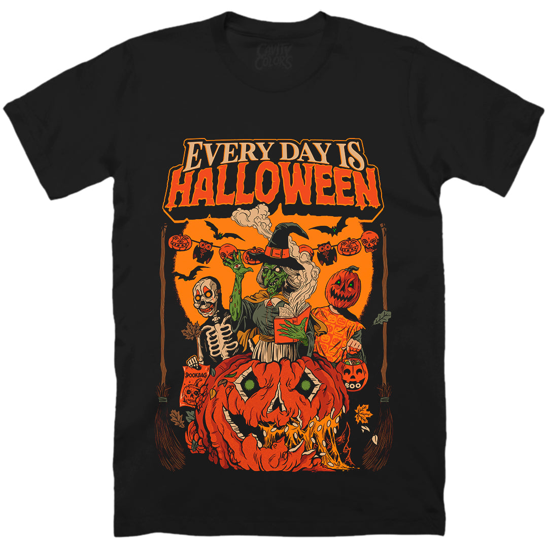 EVERY DAY IS HALLOWEEN - T-SHIRT