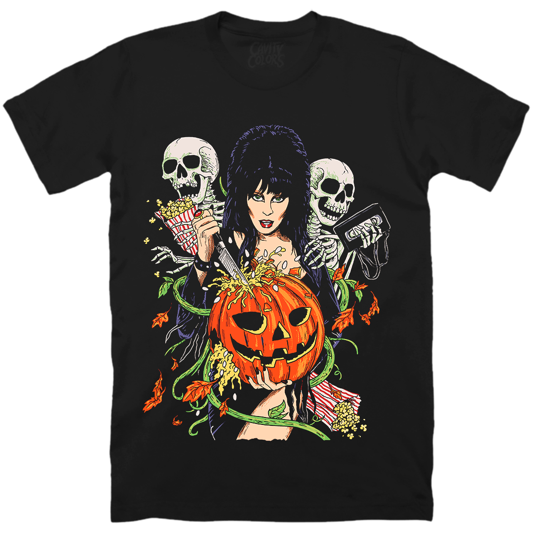 ELVIRA: HALLOWEEN FOREVER - T-SHIRT