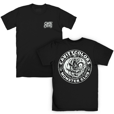 CAVITYCOLORS MONSTER CLUB (GLOW IN THE DARK) T-SHIRT