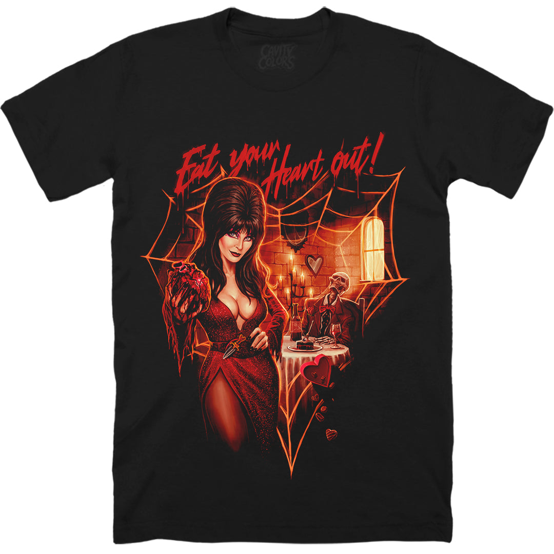 ELVIRA: EAT YOUR HEART OUT - T-SHIRT