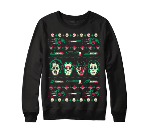 """HAPPY HORRORDAYS"" CREWNECK SWEATER"